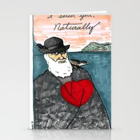 A Darwinian Heart Stationery Cards