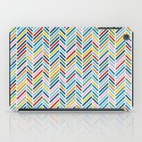 Herringbone Colour iPad Case