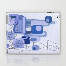 Feeling Blue. Laptop & iPad Skin