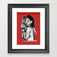 (ri)mix Framed Art Print