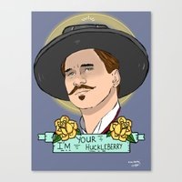 Doc Holliday Canvas Print