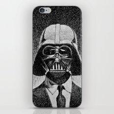 Darth Vader portrait #2 iPhone & iPod Skin