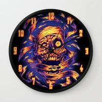 THE MUMMY'S REVENGE Wall Clock