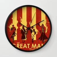 The Great Man Theory Wall Clock