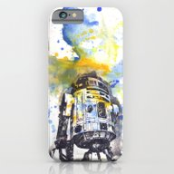 iPhone & iPod Case featuring R2D2 From Star Wars by Idillard