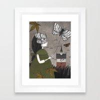 Oda (An All Hallows' Eve… Framed Art Print