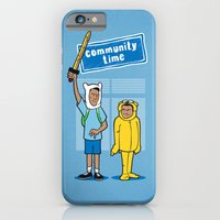 community iPhone & iPod Cases featuring Community Time! by powerpig