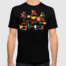 Klee's Garden Mens Fitted Tee Black SMALL