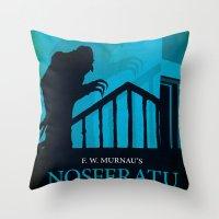 Nosferatu - A Symphony O… Throw Pillow