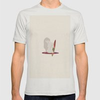 Lost In A Portal  Mens Fitted Tee Silver SMALL
