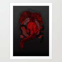 Incipit Serpent Art Print