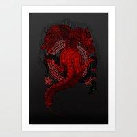 Incipit Serpent Art Print