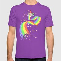 Not Laughing Now Mens Fitted Tee Ultraviolet SMALL
