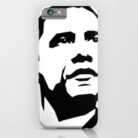 obama iPhone & iPod Cases featuring barak obama by b & c