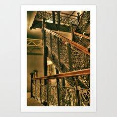 Monadnock Staircase Art Print