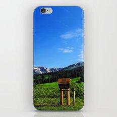 Gothic Campground iPhone & iPod Skin
