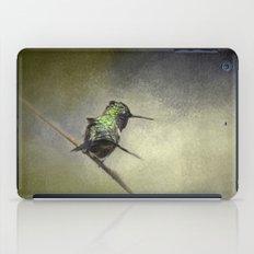 Feeling Frisky - Hummingbird iPad Case