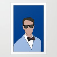 Bill Nye The Science Guy Art Print