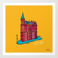 Gooderham Building Art Print