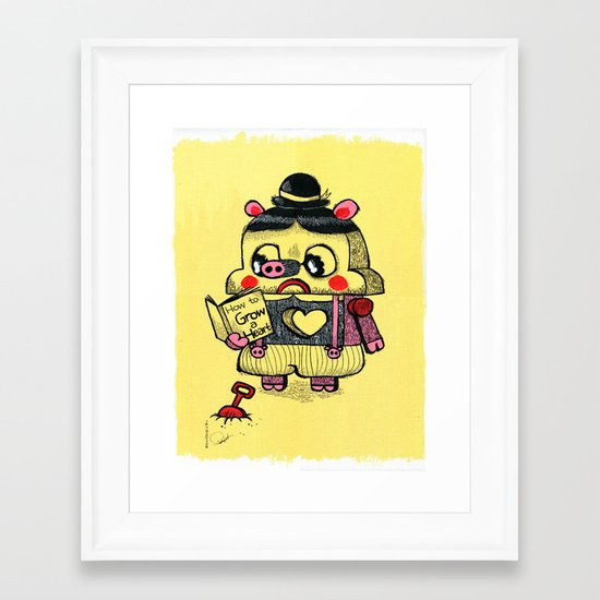 To be real Framed Art Print