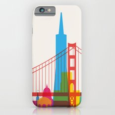Shapes of San Francisco. Accurate to scale iPhone 6s Slim Case
