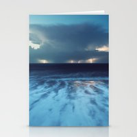Distant Thundercell Stationery Cards