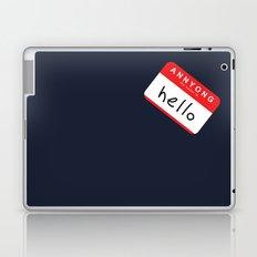 Hello, Annyong! Laptop & iPad Skin