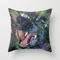 Furious Throw Pillow