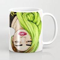 Lady Neon Mug