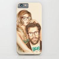 iPhone & iPod Case featuring I love your Glasses by TOXIC RETRO