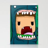 monster Stationery Cards featuring monster by jeff'walker