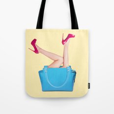BAG & HIGH HEELS Tote Bag