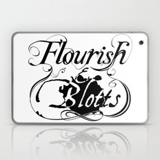 Flourish & Blotts of Diagon Alley Laptop & iPad Skin