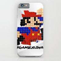 Pixel Mario iPhone 6 Slim Case