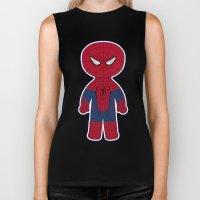 Chibi Spider-man Biker Tank