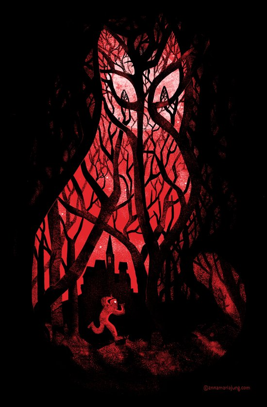 Mister Poe's Guilt Trip Art Print