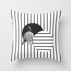 Into The Void Throw Pillow