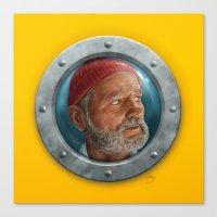 Porthole Steve Canvas Print