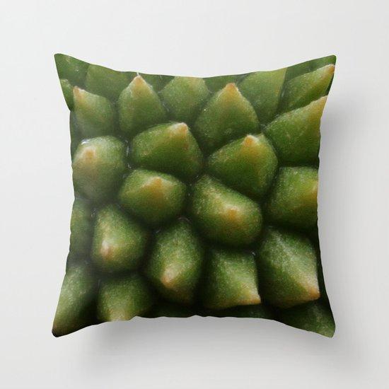 BABY DURIAN  Throw Pillow