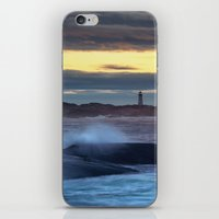 Lighthouse In The Distan… iPhone & iPod Skin