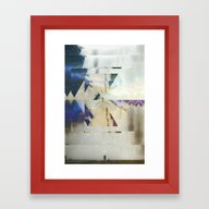 Fractions 01 Framed Art Print
