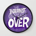 The Internet Is Completely Over Wall Clock
