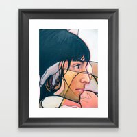Keyana Abstrotica closeup Framed Art Print