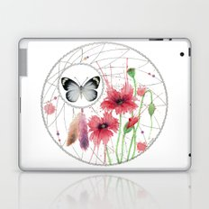 Dreamcatcher No. 2 - Butterfly Illustration Laptop & iPad Skin