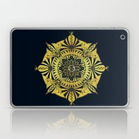 Golden Geometry Laptop & iPad Skin