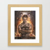 Ron ****ing Swanson Framed Art Print