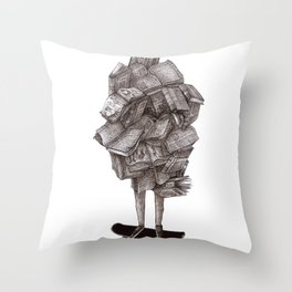Throw Pillow - all about learning - franciscomffonseca