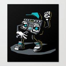 Beatbox Boombox2 Canvas Print