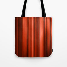red stripes Tote Bag