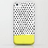 Polka Dot Rain Dip iPhone 5c Slim Case